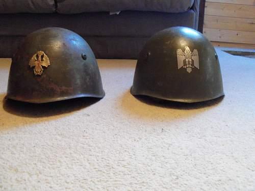 Need Help/advice Italian M33 emblem