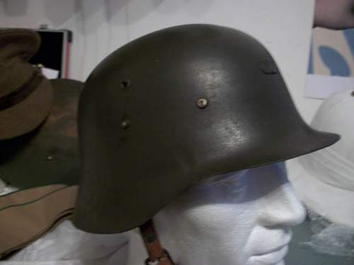Spanish m35 helmet?