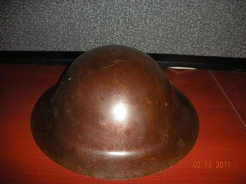 Click image for larger version.  Name:Helmet - WW1 - Unknown3.jpg Views:67 Size:54.6 KB ID:180045