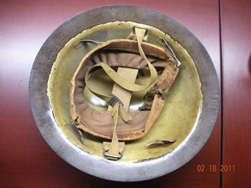 Click image for larger version.  Name:Helmet - WW1 - Unknown1.jpg Views:90 Size:53.7 KB ID:180046