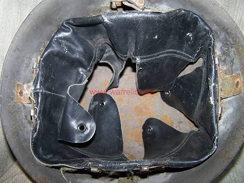 Rare Estonian/ Polish helmet M40 ( Wz39)