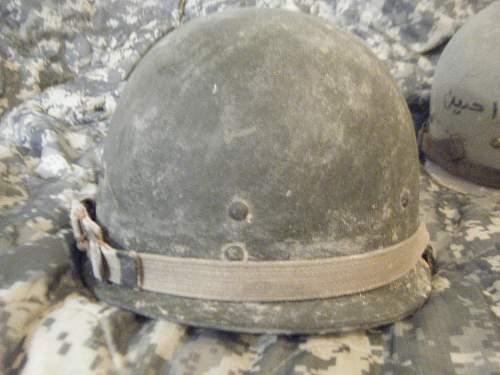 My helmet finds in iraq