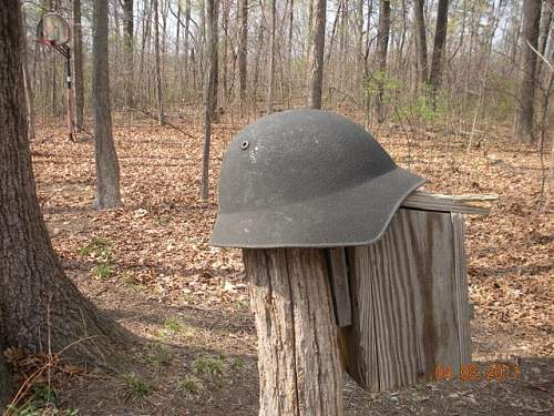 Click image for larger version.  Name:Swiss Helmet - WW2 - 1.jpg Views:2329 Size:95.7 KB ID:194577