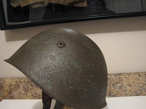 WW2 Italian helmet or pre war?