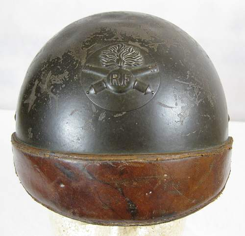 Help with French helmet??