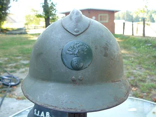 M-26 French Adrian Helmet or M-16 ???