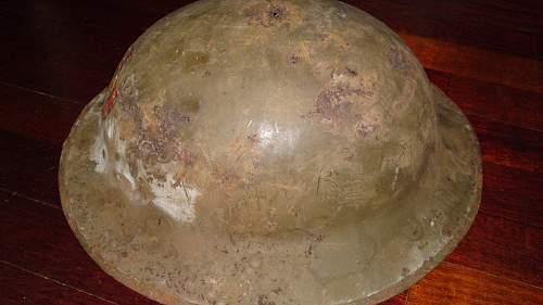 WW1 CDT Helmet