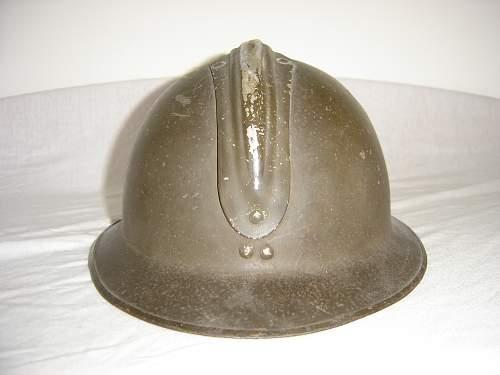 Belgian helmet WW2