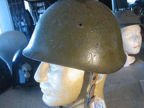 Is this a WWII Italian Helmet?