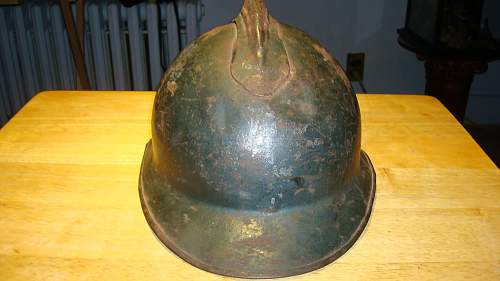 Italian m15/16 Helmet