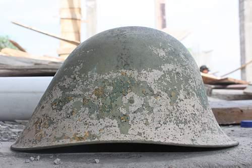 Stahlhelm in East Indies
