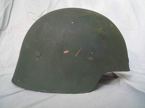 Spanish Model 21 Helmet Authentic?