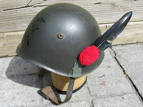 my italian m33 helmets
