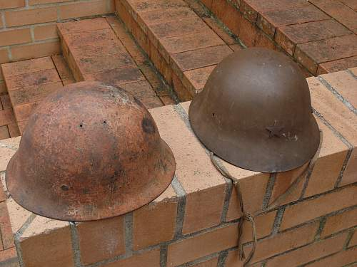 Japanese civil and combat lid