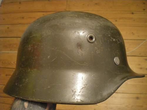 Finnish German Helmet WW2 or Post War?