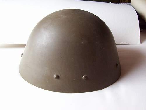 Click image for larger version.  Name:WW II steel helmet.jpg Views:633 Size:100.5 KB ID:33324