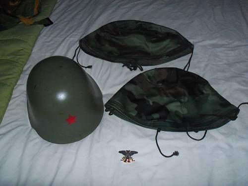 Yugoslavian ne-44/85 with jna sniperhood