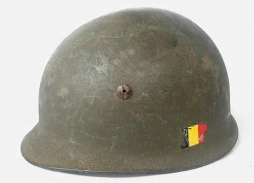 belgium m71 parachutist helmet