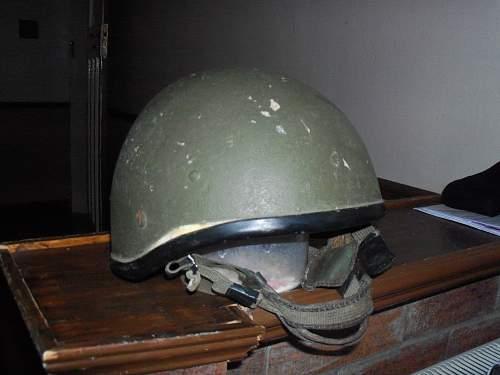 irish defence helmet
