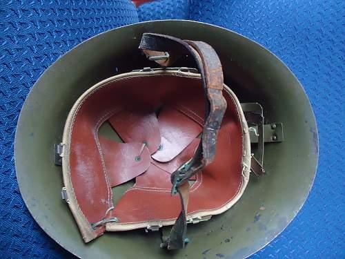 Helmet from garage sale