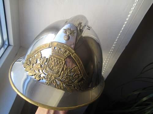 My French fireman's helmet