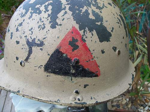 Iraqi helmet