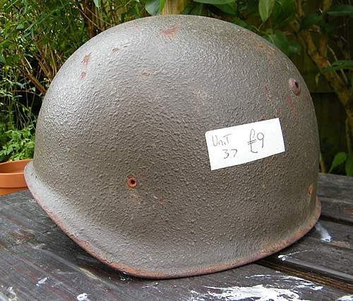 Swiss m71 helmet