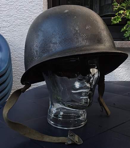 U.S. Army 1953 lid. Help with info, please!
