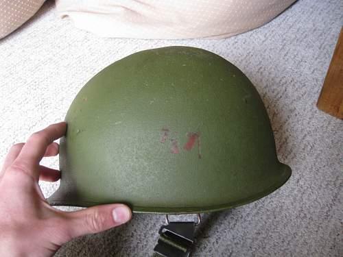 Vietnam era helmet