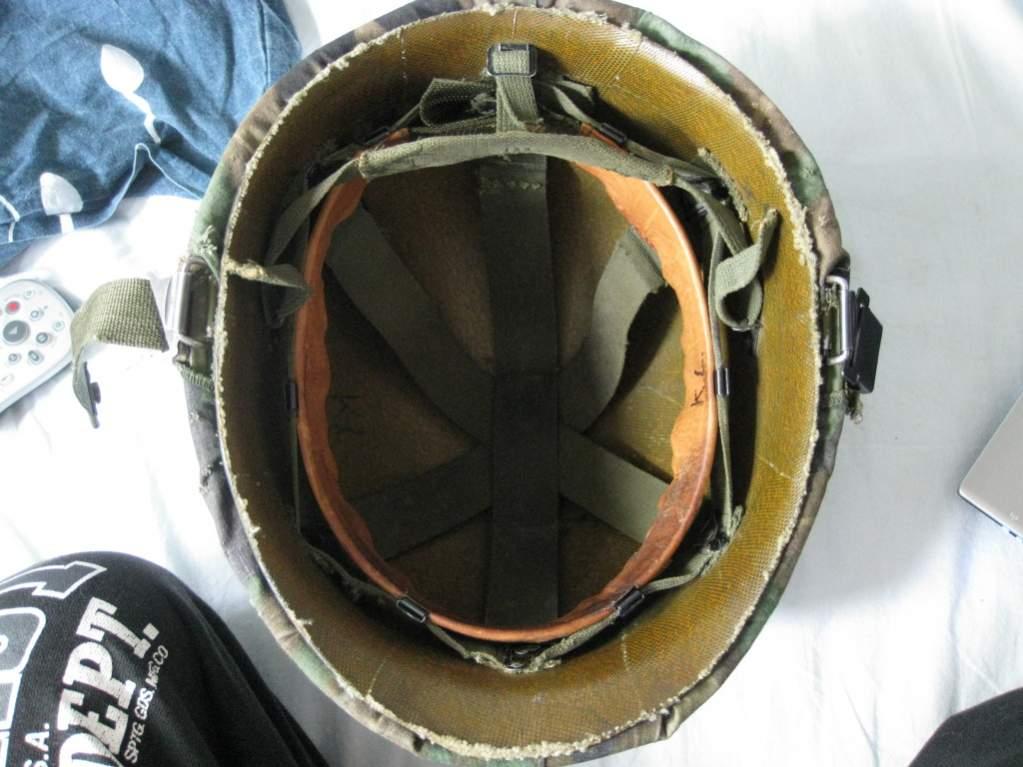 M1 helmet liner dating