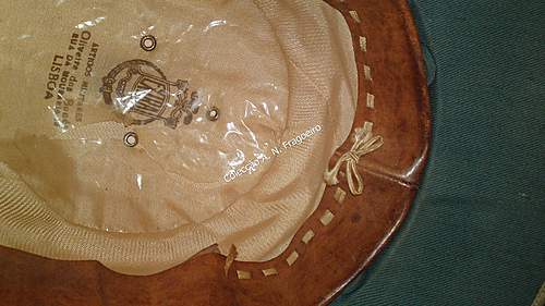 1950`s Portuguese Colonial pith helmet