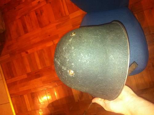 Unknown helmet, bought in Switzerland