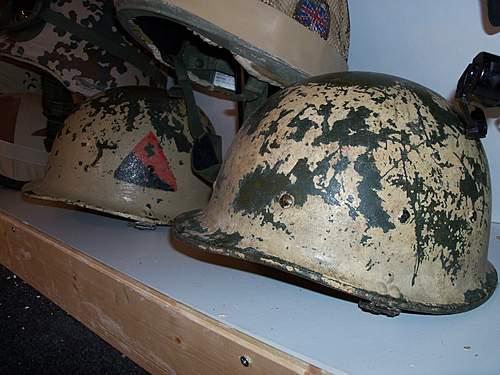 Iraqi M80 helmet - took a punt!