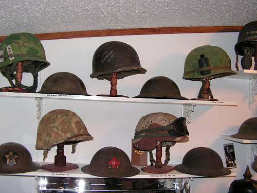 My Helmet Collection... My Introduction