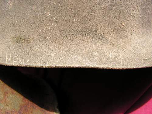 Click image for larger version.  Name:Howard Radford 2nd Armored Divison Helmet 011.jpg Views:71 Size:114.5 KB ID:46883