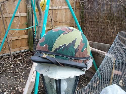 belgium T-21 helmet