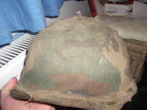 Unknown helmet cover