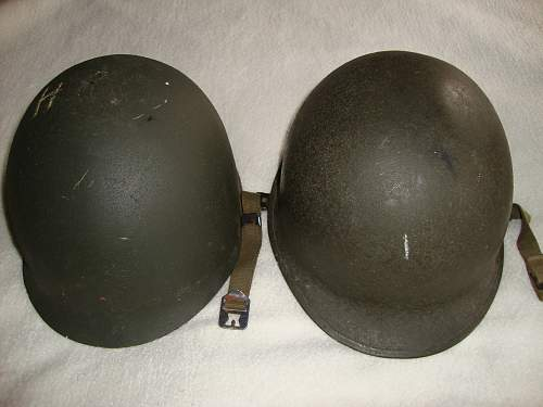 Has anybody got a Geniune Argentinian helmet from the Falklands ?
