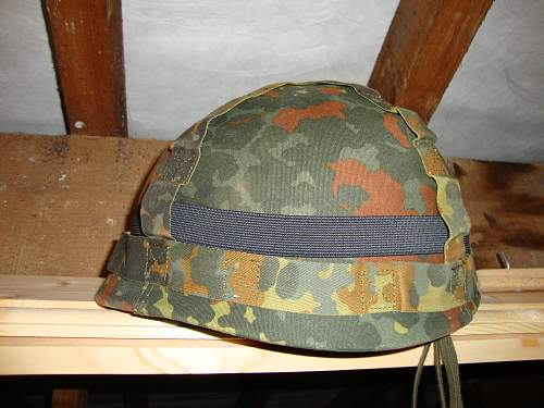 West German Helmet