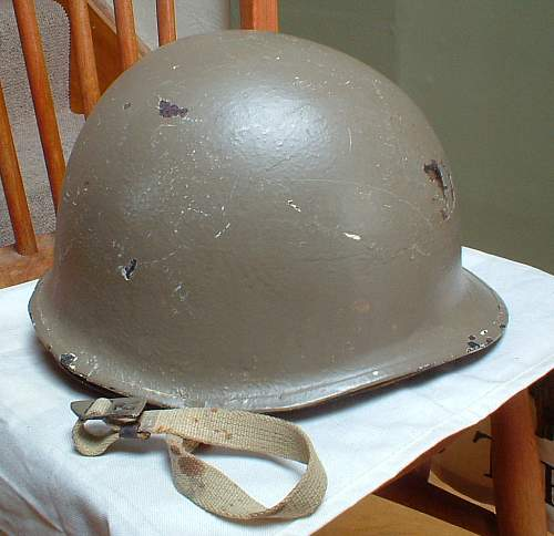 Israeli Defence Forces M1 Helmet (2-strap version) Re-conditioned US Liner