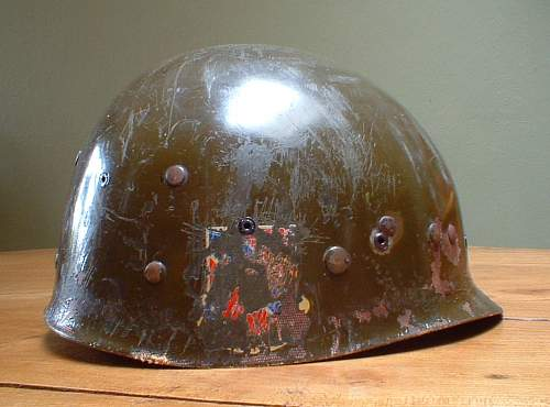Israeli Defence Forces M1 Helmet (2-strap version) Re-conditioned US Liner
