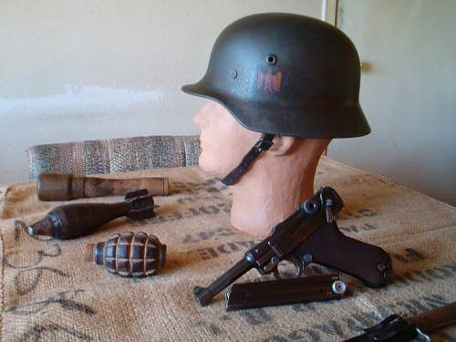 would you ever buy a repro WWII German helmet? who makes the best repro on the market?