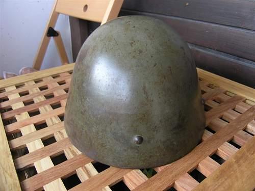 "Yugoslavian M39 ""Čačak"" helmet"