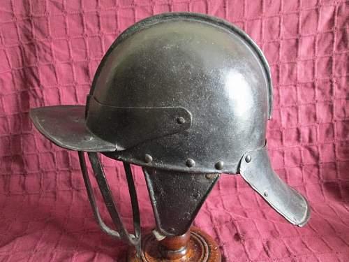 English Civil War Triple Bar Helmet