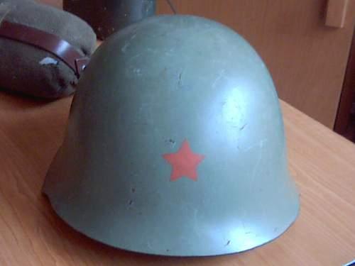 New helmet: Yugoslavian M 59/85