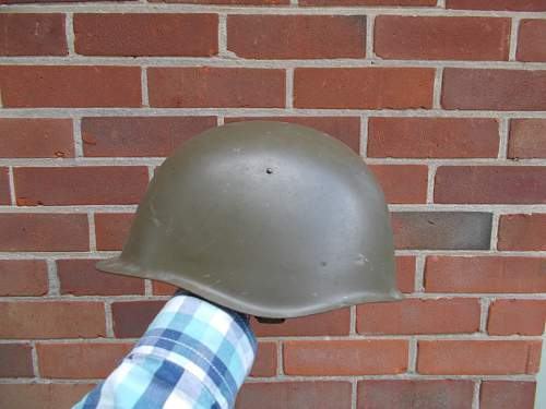 What type of Czech helmet is this?
