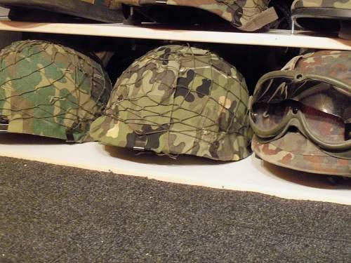 M1A1 LL Para helmet