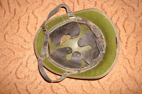 ww2 romanian helmet.