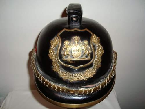 Click image for larger version.  Name:DANISH POLICE HELMET 064.JPG Views:27 Size:147.5 KB ID:582528