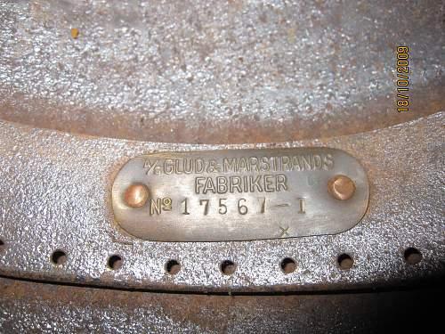 Danish M-23 helmet?